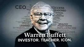 Warren Buffett: Investor. Teacher. Icon.
